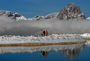 Winterwandern auf der Höss