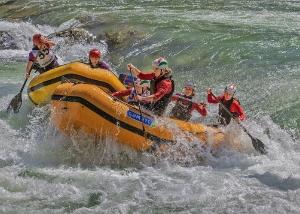 Rafting Zweikampf