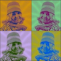 Gaby á la Warhol_1